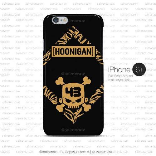 Ken Block Skull Hoonicorn Hoonigan Gymkhana iPhone 6 Plus Case