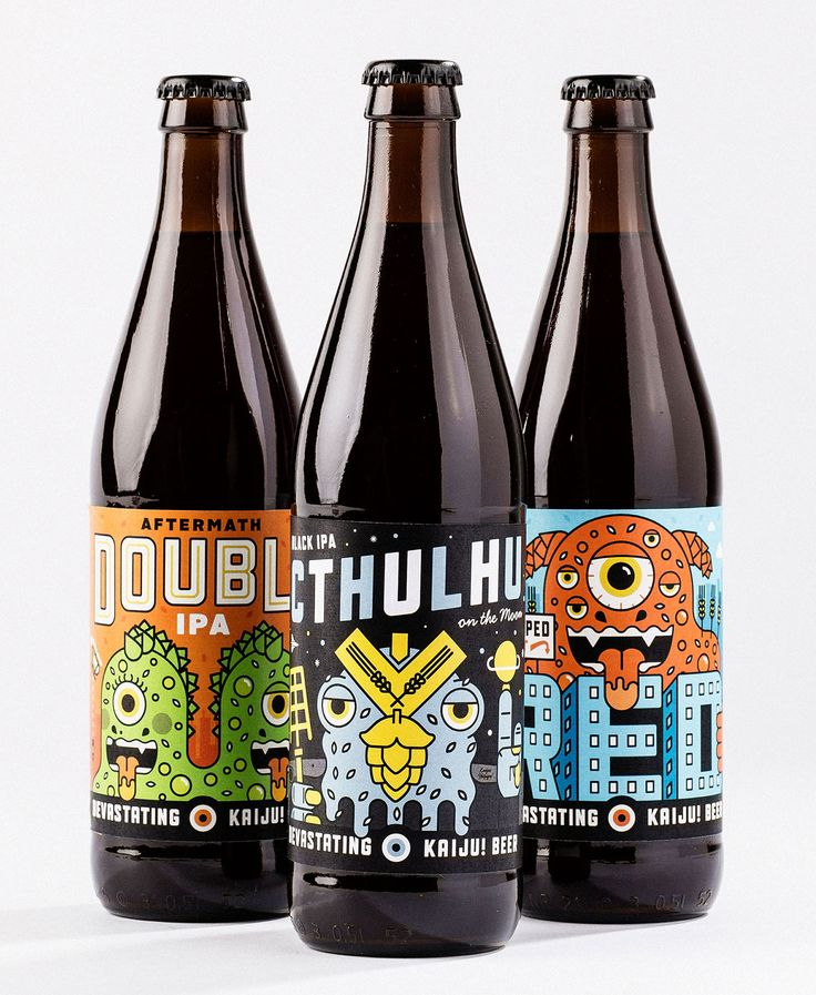Kaiju Beer: your daily #packaging smile : ) PD