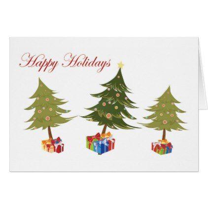 "The Presents of Christmas - ""Merry Christmas"" Card - merry christmas diy xmas present gift idea family holidays"