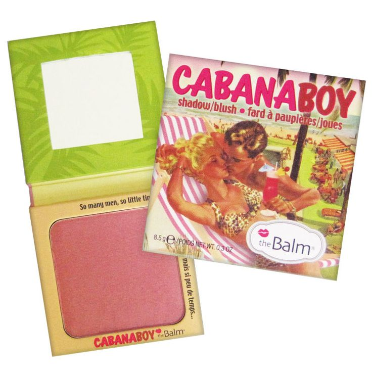 thumb the Balm Cabana Boy - Blush e Sombra 8.5g