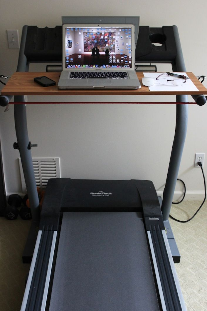 How To Build A Treadmill Desk For Under $20! - Whole Lifestyle Nutrition | Organic Recipes & Holistic Recipes