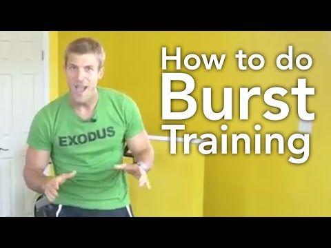 How to Do Burst Training - Dr. Axe