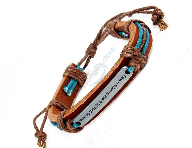 This Bracelet Has An Amazing Look Makes A Great Gift For Friends Constructed With Cowhide