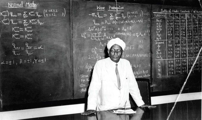 C. V. Raman, Indian Physicist