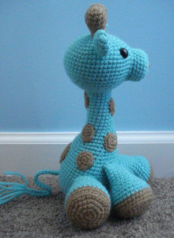 Crochet PATTERN giraffe Theodore and Emma, African toy pattern ... | 778x570