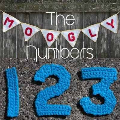 The Moogly Crochet Numbers Free Crochet Pattern through TheYarnBox.com