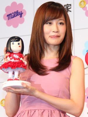 Atsuko Maeda is Fujiya's new image model #AKB48