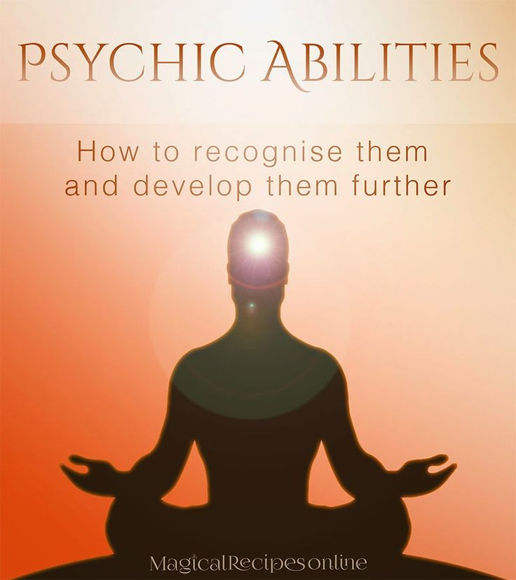 Psychic abilities: How to recognise them and develop them further