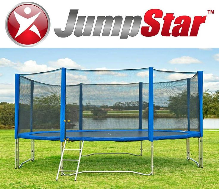Jump Star Awesome 14ft and 16ft ROUND enclosed trampolines come with or without enclosure!  They have a fantastic jump space and are perfect for energetic kids who    to JUMP and have FUN in their backyard!  14ft complete with enclosure & ladder - $425  16ft complete with enclosure & ladder - $475  http://www.jumpstartrampolines.com.au/round-trampolines-c-1.html