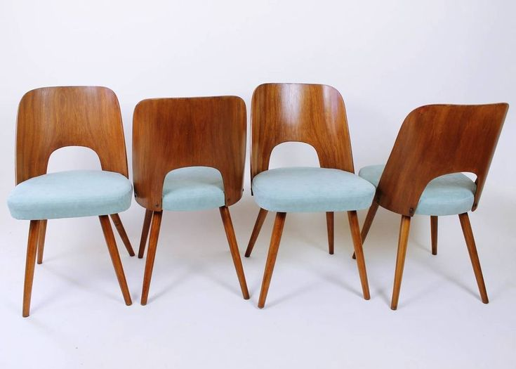 1 from 4 Vintage 60'Mid Century Modern Thonet Oswald Haerdtl Chairs in Home, Furniture & DIY, Collectables | eBay
