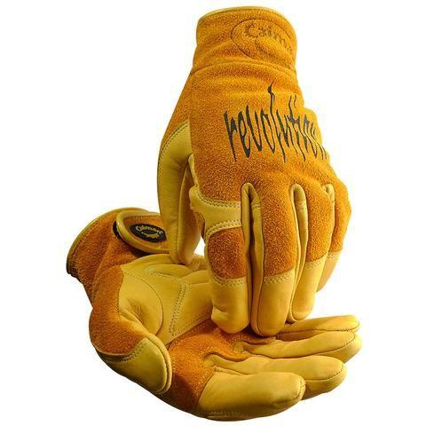 Sheep Grain, All Leather Multi-Task Welding Gloves - 1828 - Caiman