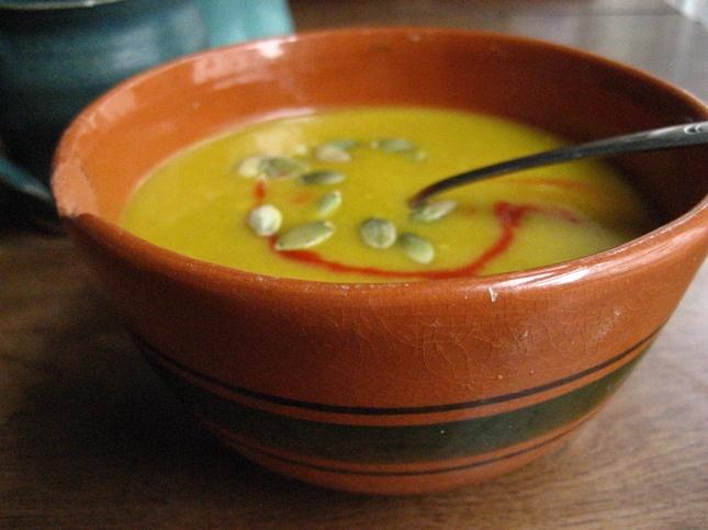 Curried Pumpkin Soup | [Soup for the Soul] | Pinterest
