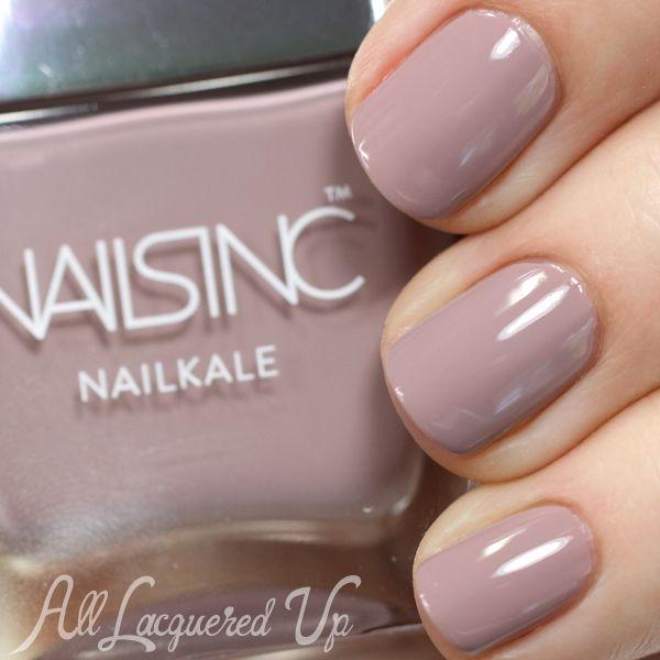 New! Nails Inc Nailkale Nail Polish Swatches and Review