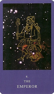 The Emperor from the Dion Fortune Tarot