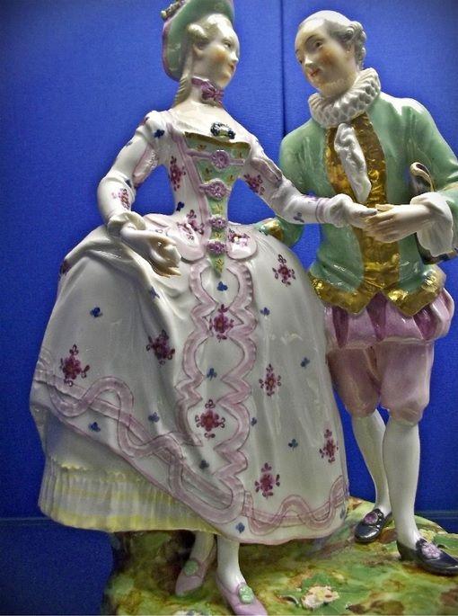 Фарфоровые скульптуры Венской мануфактуры пластического периода