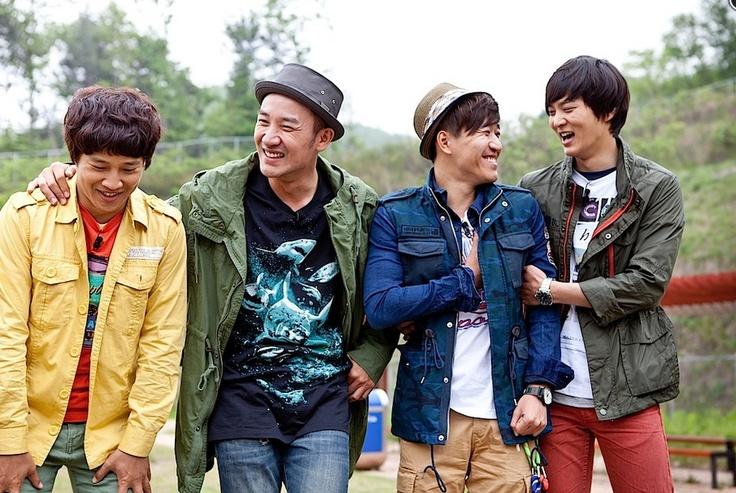 Cha Tae Hyun, Uhm Tae Woong, Kim Jong Min, Joo Won - 1n2d season 2