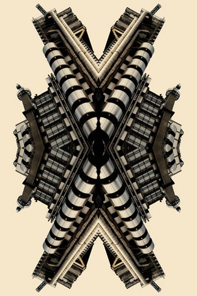 """Kaleidoscope Buildings: Memento pt.2 series"" 