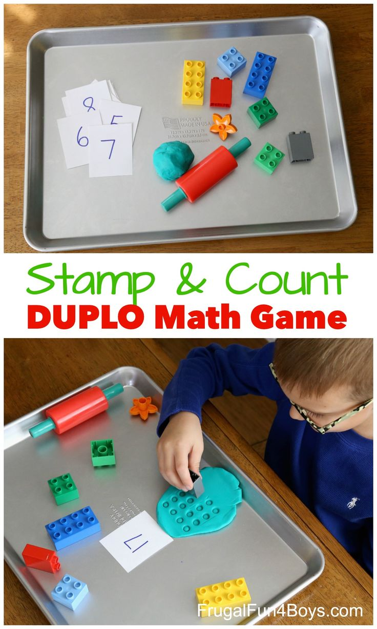 Engaging, Hands-on DUPLO Math Games that Kids will LOVE