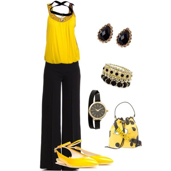 A fashion look from October 2014 featuring Grace Elements tops, P.A.R.O.S.H. pants and Pollini flats. Browse and shop related looks.