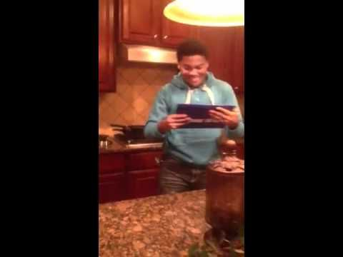 Jalen Jones Finds out he was accepted into GSU