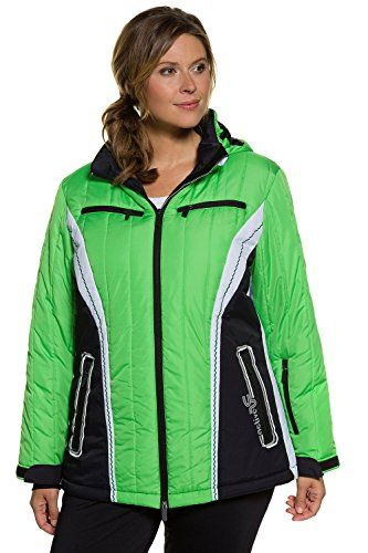 Ulla Popken Womens Plus Size Ski Jacket Grass Green 2426 706781 42 ** Click image for more details. This is an Amazon Affiliate links.