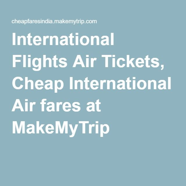 cheap international airline tickets to africa