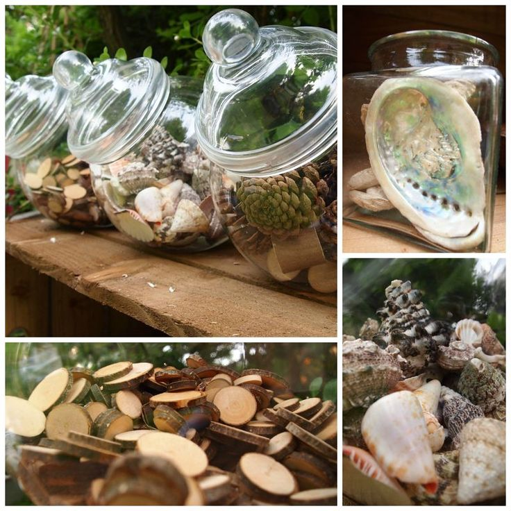 """Love the way ABC Does has presented the natural materials for his mud kitchen ("""",)"""