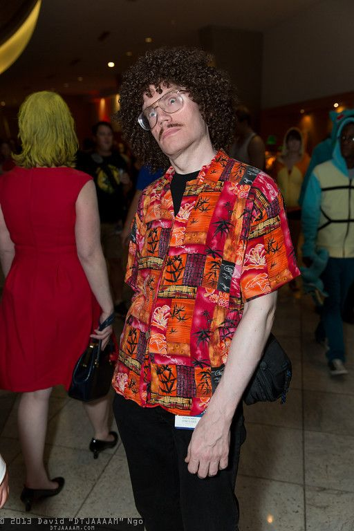 Weird Al Yankovic. Curated by Suburban Fandom, NYC Tri-State Fan Events: http://yonkersfun.com/category/fandom/