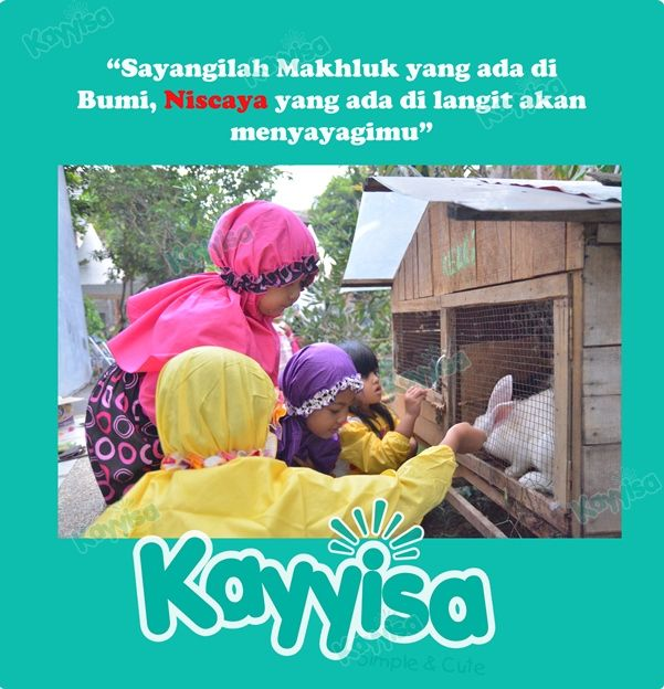 Agar Anak Cinta Binatang By Kayyisa