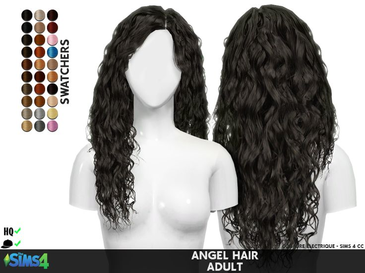 ANGEL HAIR HQ compatible Custom Shadow Category: Hair Custom Thumbnail All LOD's Mesh Original/Credits breadcrumbs  - [ here ] ♥ Support ...