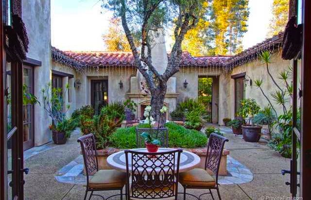 great courtyard