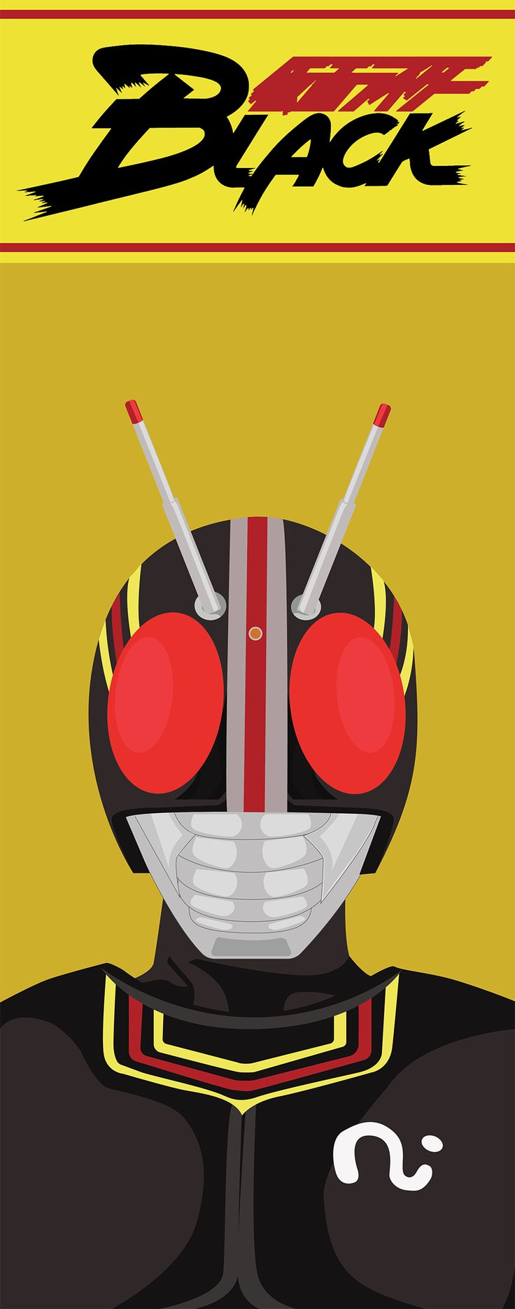 Kamen Rider BLACK - Vector Art