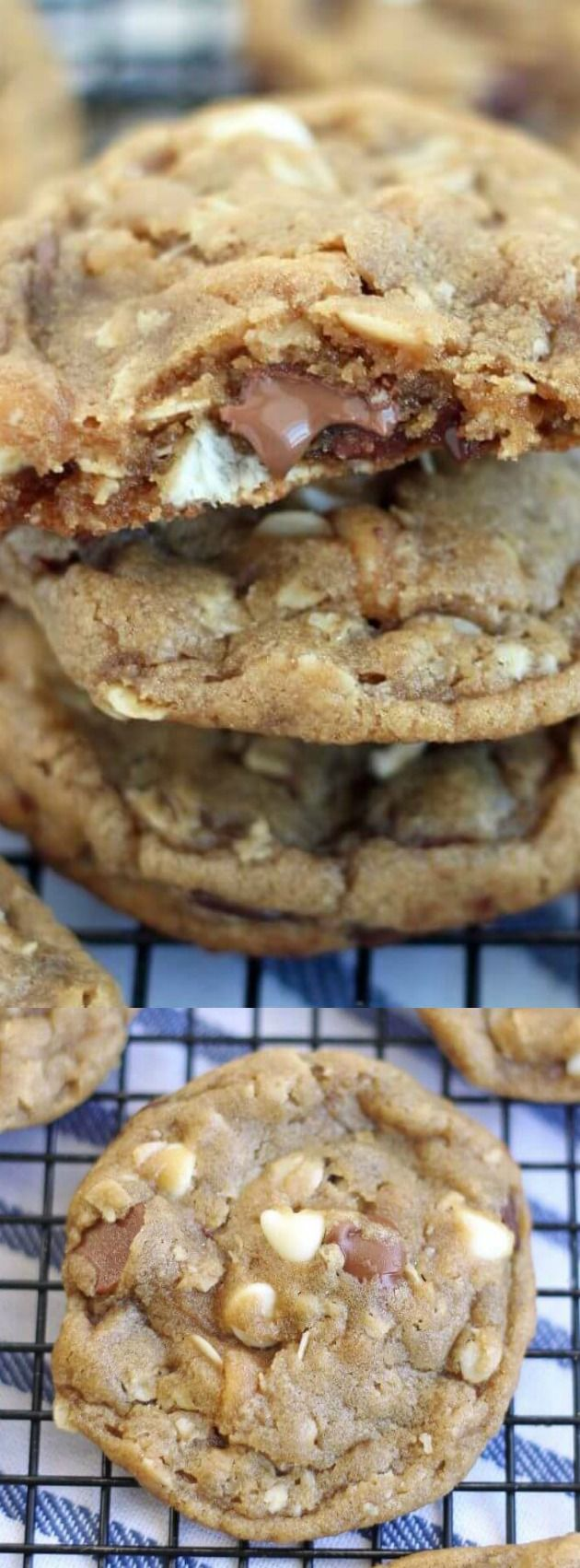 These I Want To Marry You Cookies from 5 Boys Baker are insanely good and might make your friends and family fall in love with you! You can add M&M's, nuts, chopped up candy bars, or anything else you love!