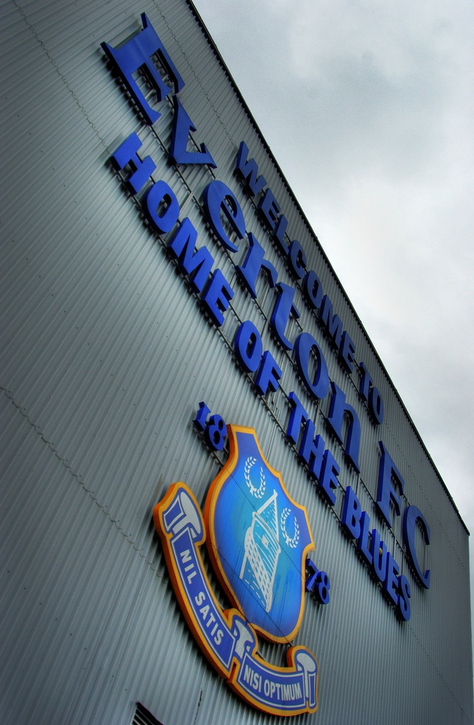 Welcome to Everton FC Home Of The Blues