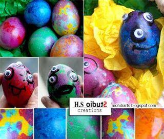 Bri-coco de Lolo: Les étrangers qui sont venus pour Pâques