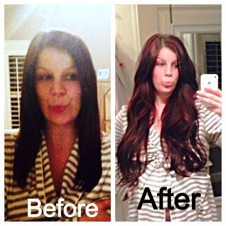74 best bellami bellas images on pinterest hair extensions my bellami hair extensions 22 inches color dark brown amazing pmusecretfo Gallery