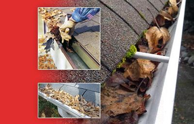 Gutter Cleaning Services..!!