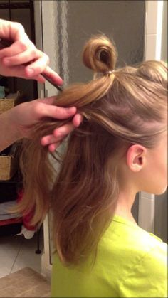 Faux Hawk Hair Tutorial for Dance Competition