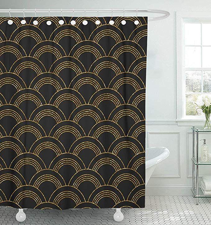 Amazon Com Emvency Shower Curtain Waterproof 72 X78 Polyester
