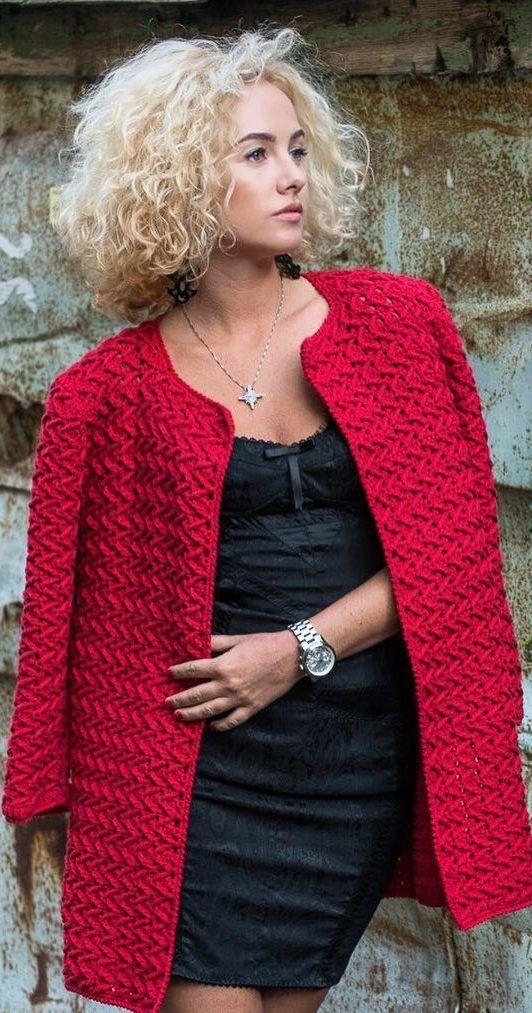 70+ Amazing and Stylish Crochet Cardigan Pattern Ideas 8