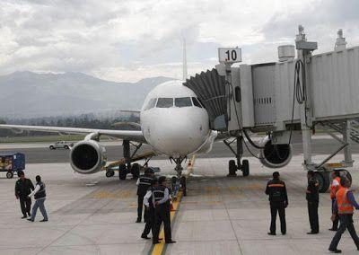 Horario de vuelos internacionales desde Quito día Jueves