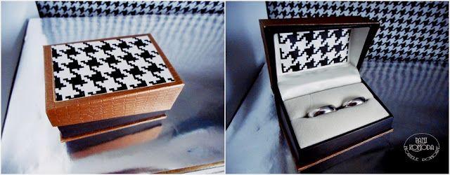 obrączki   decor  BOX   DIY