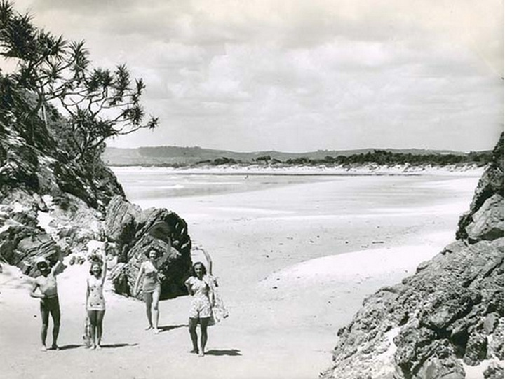Byron Bay  - The Pass 1960's
