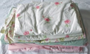 Frugal Tip: Don't Buy Fitted Sheets - Only Buy Flat Sheets