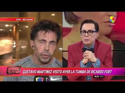 """Gustavo Martínez: """"Pido que dejen en paz a Ricardo Fort"""""""