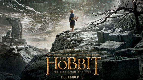'The Hobbit: The Desolation of Smaug' First Poster Debuts YESYESYESYESYES