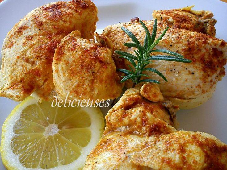 Πικάντικο Κοτόπουλο στην κατσαρόλα με σκόρδο και ξύσμα λεμονιού