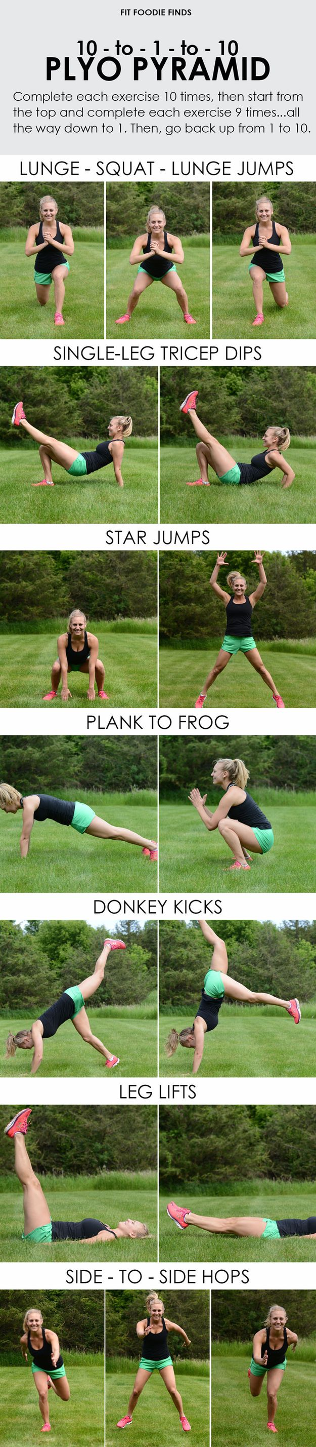 How to beat workout boredom with a fun plyometric workout...