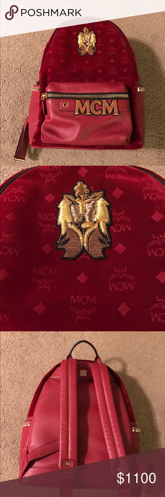 MCM Bag!Price is firm! Brand new,100% authentic,large size! MCM Bags Backpacks