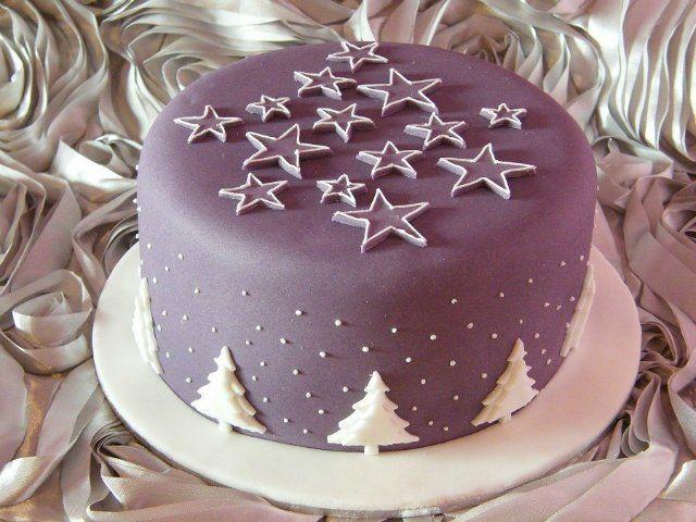 Новогодние и рождественские торты. Идеи из Интернета